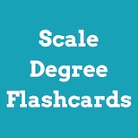 Chord / scale degree flashcards